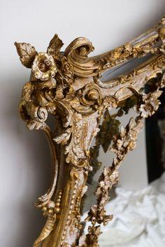 Ornate Gilt Mirror image 4