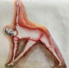 Extended Triangle Pose   Utthita Trikonasana