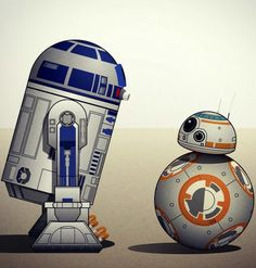 Star Wars - R2-D2 and BB-8