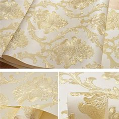 Damask Textured Embossed Wallpaper WP225 – Cheerhuzz