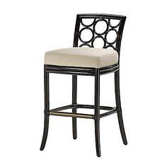 McGuire Furniture: Laura Kirar Ring Bar/Counter Stool: O-382