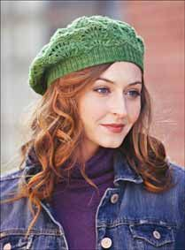 2cb9df87553 Pretty beret to knit Crochet Adult Hat