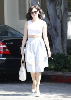Rose McGowan out and about on Melrose in Los Angeles, California on August 14, 2013.