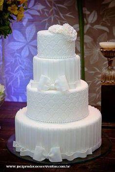 Bolo clássico casamento tradicional- wedding cake