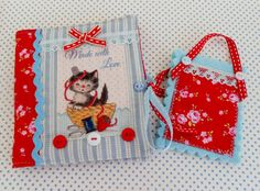 Retro inspired Mini Sewing Book by picocrafts on Etsy, $15.00