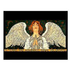Pax Angel Postcard