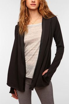 Nesh Lux Wrap Hoodie  #UrbanOutfitters