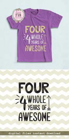 Four whole years of awesome kids 4th birthday by LoveRiaCharlotte