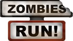 Zombies, Run! Running game app for your phone!! Enter your destination, and run away from the zombies!