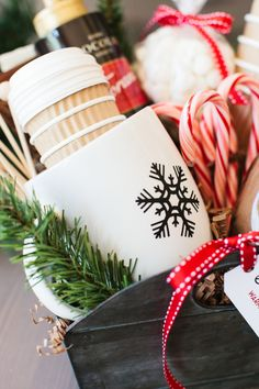 The TomKat Studio: The Perfect Hot Cocoa Gift Basket…