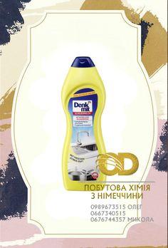 Denkmit  Scheuermilch, 0,75 l dm de