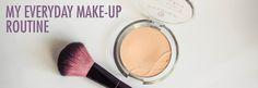 My everyday make-up routine #makeup #makeupaddict #makeuplook #beauty #beautyblogger #bblog #bblogger #fotd #makeupproducts