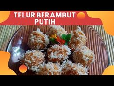 RESEP ANEKA TELUR: TELUR BERAMBUT PUTIH - YouTube Potato Salad, Cauliflower, Potatoes, Vegetables, Ethnic Recipes, Food, Cauliflowers, Meal, Potato