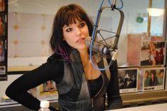 Lzzy Hale. Lead singer of Halestorm