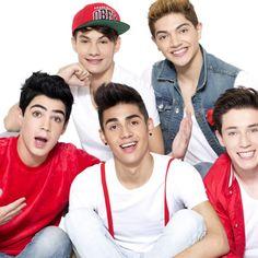Jos, Freddy, Bryan, Alonso y Alan conforman CD9