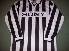 ada45ec3def 1995 1997 Juventus L s Football Shirt Adults XL Maglia Classic Football  Shirts