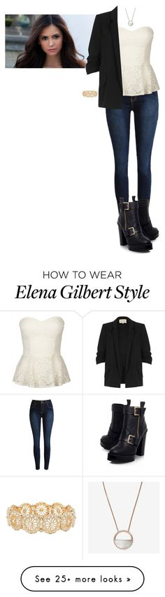 """""""Melody Clark (The Flash)"""" by demiwitch-of-mischief on Polyvore featuring Skagen, Full Tilt, River Island, KG Kurt Geiger and M&Co"""