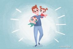 10 Rules from an Experienced Father of Two Children Kids Corner, Second Child, Disney Characters, Fictional Characters, Father, Family Guy, Parenting, Disney Princess, Children