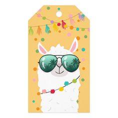 Eid Stickers, Cute Stickers, Spring Drawing, Llama Gifts, Llama Birthday, Cute Llama, Llama Alpaca, Custom Ribbon, Gift Labels