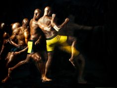 Anderson Silva Moving Like The Bionic Man Here :)