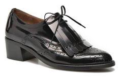 Chaussures à lacets Parafrange Georgia Rose vue 3/4