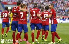 El Atlético vence a Las Palmas