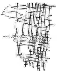 H.N. Werkman, Mit Schreibmaschine 1923-29 (2007).  (My idea: use a typewriter to make an art piece - portrait, perhaps whole body?)