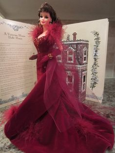 Scarlett O'Hara Barbie Doll in Gone With the Wind