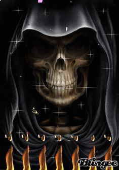 Grim Reaper Pictures, Reaper Quotes, Grim Reaper Art, Tattoo Ideas, Tattoo Designs, Motion Images, Skull Wallpaper, Halloween Pictures, The Grim