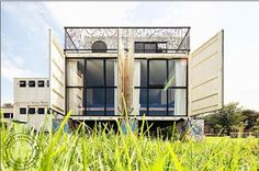 Shipping Container Homes: 28 Shipping Container Home, - 4d and a architects, New Jerusalem Children's Home, - Johannesburg, South Africa, http://homeinabox.blogspot.com.au/2013/05/28-shipping-container-home-4d-and.html