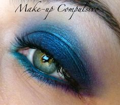 Bustin out my fun eyeshadow colors again! Must do this!!!