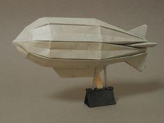 hot air balloon model patterns | Zeppelin
