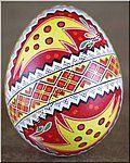 Easter Egg Ukrainian Chicken High Quality Pysanka