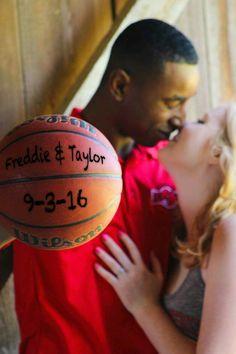 Engagement photos basketball                                                                                                                                                                                 More