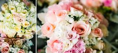 Lovely blushing colors of  wedding flowers bouquet | Project by Paper Cranes Productions http://www.bridestory.com/paper-cranes-productions/projects/douglas-charis-wedding-cinematic-portraiture-we-will-serve-lord-together