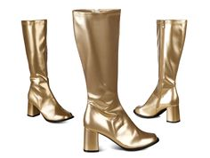 Kultaiset bilesaappaat Riding Boots, Heeled Boots, Glamour, Heels, Fashion, Horse Riding Boots, High Heel Boots, Heel, Moda