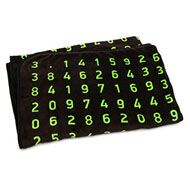 Pi By The Numbers Fleece Blanket