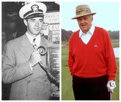 Sam Snead-Navy-WW2-1942-44-was an athletic specialist in Cndr. Gene Tunney's program (PGA Golfer)
