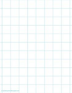 A 1 inch graph paper is a big squared paper mostly used for drawing or displaying graphs, mathematical functions, data, figures and many more. Paper size: US Letter. Document width and height: by 11 inches. Printable Graph Paper, Free Printables, Grid Wallpaper, Paper Daisy, 3d Figures, Thing 1, Paper Size, Design Projects, Lettering