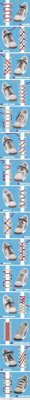 How to buộc giày :v