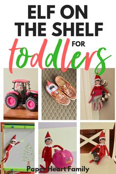 2019 Elf On The Shelf Ideas For Toddlers (Easy Yet Awesome Elf Poses) Funny Elf on the Shelf ideas for toddlers. Toddlers are easy to please, but you can have fun with the Elf on the Shelf with these creative ideas for your little boy or girl. Elf Auf Dem Regal, Girl Elf, Buddy The Elf, Toddler Christmas, Toddler Fun, Christmas Elf, Christmas Traditions, Holidays And Events, Holiday Fun