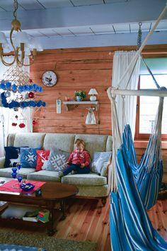 Tam gdzie czas się zatrzymał- o idealnym miejscu na wyjazd z dziećmi Loft, Cottage, Interior, Bed, Furniture, Poland, Home Decor, Indoor, Homemade Home Decor