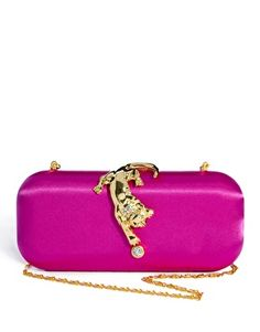 Talullah Tu Lyla Panther Box Clutch Bag