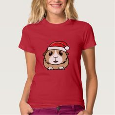 Christmas Guinea Pig Women's T-Shirt