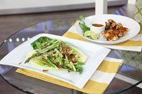 Chef Christine Cushing shares a recipe that will add a kick to your chicken! Christine Cushing, Grilled Romaine, Bbq Chicken Wings, Homemade Barbecue Sauce, Asparagus Salad, Pork, Veggies, Appetizers, Cooking Recipes