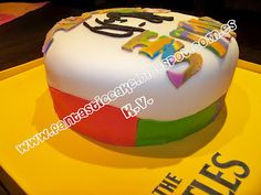 Detalle lateral de la tarta