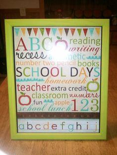gift for my son's teacher :)