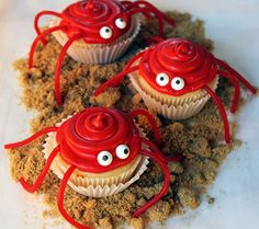 Crawling Crab Summer Cupcake Recipe