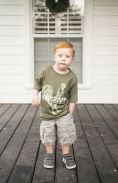 "Cutest kids t-shirt ever. Northway Farms ""Early Riser"" children's t-shirt."