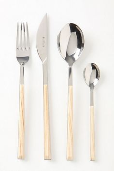 Sushi Queen flatware from Anthropologie. I've never loved a fork before, but I really want these.